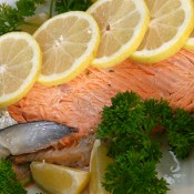 Poached Whole Salmon
