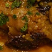 Chicken-prune-tagine