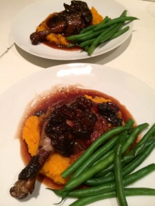 recipe photo duck with prunes