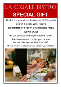 champagne offer