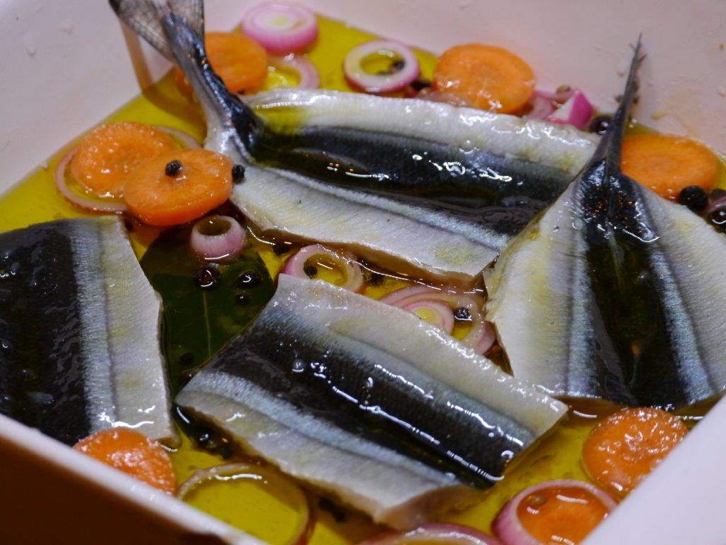 Recipe marinated sanma