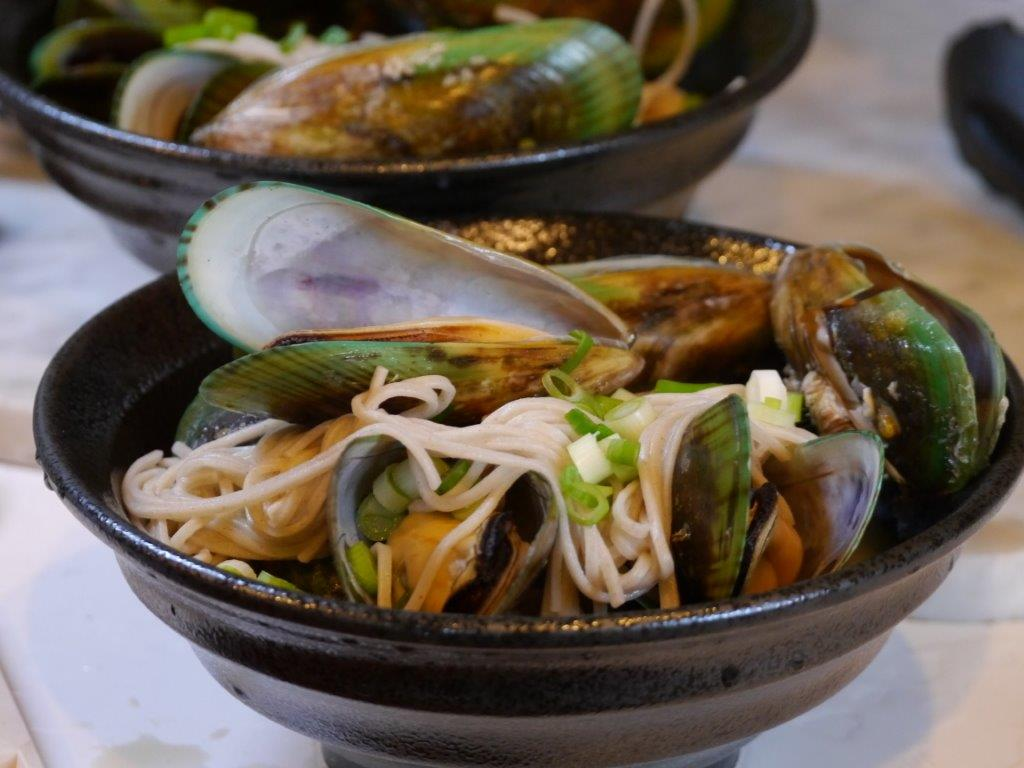 Recipe Mussels and soba noodles