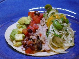Marinated pork belly tacos 1