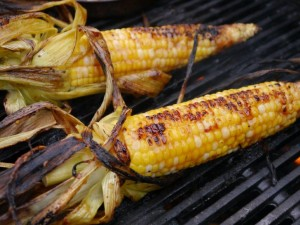 008 (4)  Grilled corn with miso butter