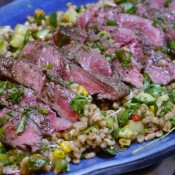 Recipe - Sirloin and Pearl barley Salad