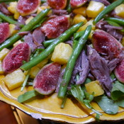 duck & fig salad
