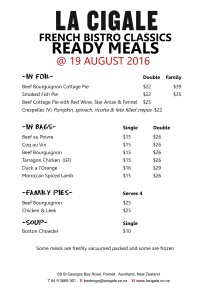 ready meals big sheet august 19