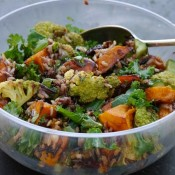 Rice and Pumpkin Salad