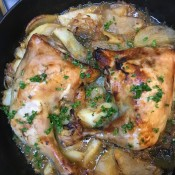 recipe chicken cider & apples